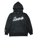 DOWN FOR LIFE CLOTHING - Script Logo フードパーカー 黒