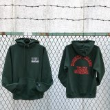 DOWN FOR LIFE CLOTHING - True School フードパーカー 深緑