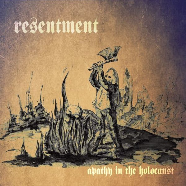 "画像1: RESENTMENT - ""Apathy In The Holocaust"" CD"
