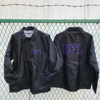 DOWN FOR LIFE CLOTHING - Varsity コーチジャケット 黒